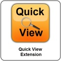 Quick View Extension